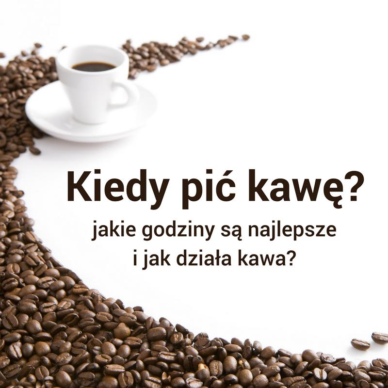wpływ kawy na produktywność