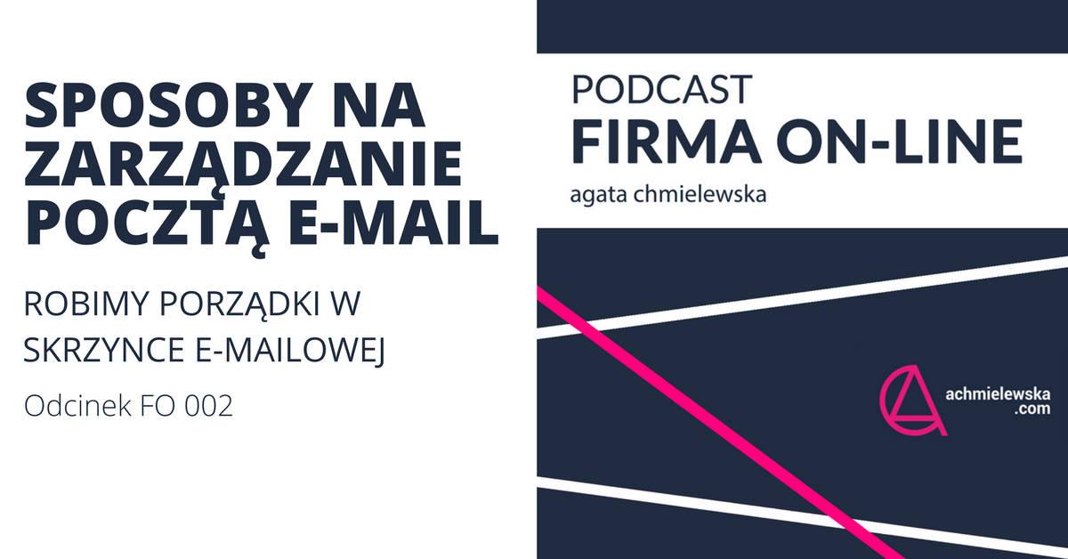 Sposoby na zarządzanie pocztą e-mail – robimy porządki w skrzynce e-mailowej