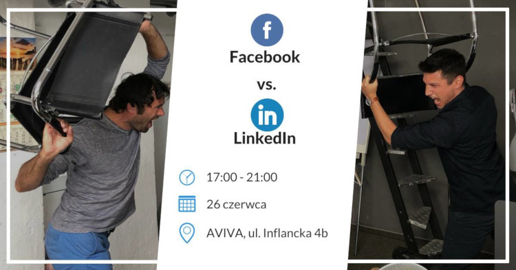 Linkedin vs Facebook w biznesie