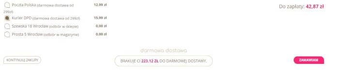 biogo_pl do darmowej dostawy brakuje ci