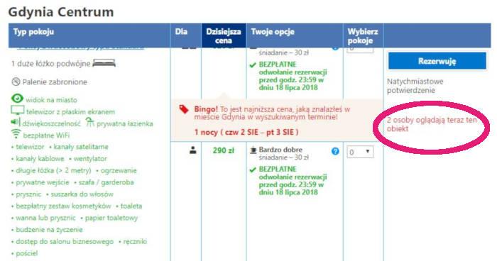 booking_com ile osób przegląda