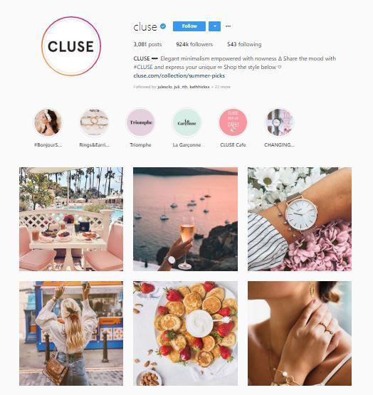 sklep internetowy na instagramie