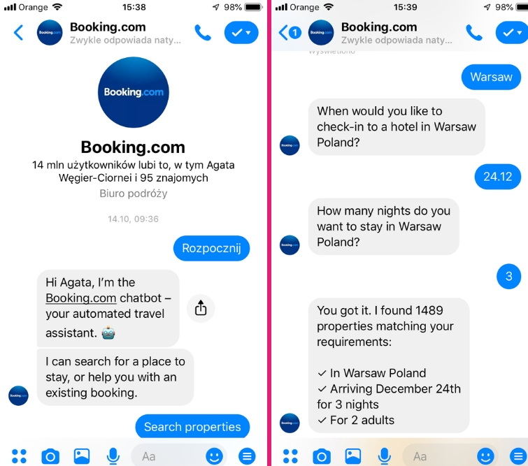 chatbot e-commerce