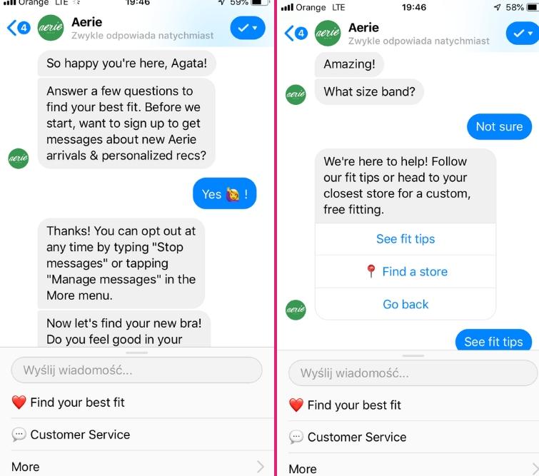 messenger chatbot