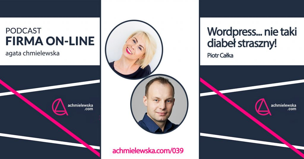 strona i sklep na WordPressie