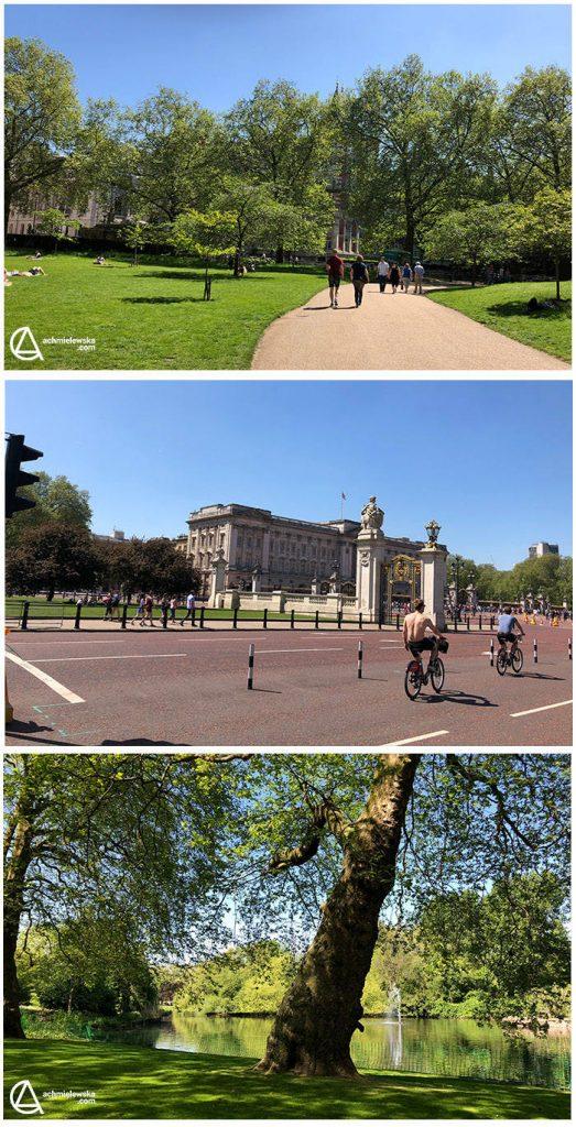 Buckinham Palace i St Jame_s Park