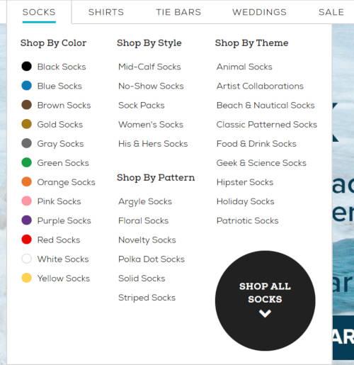 kategoryzacja produktów w sklepie internetowym
