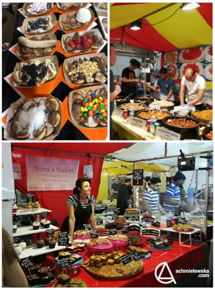 brick lane market food