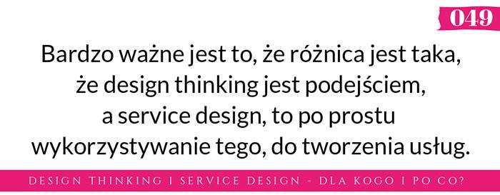design thinking a service design