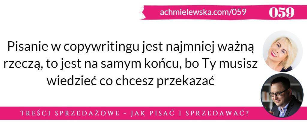 dariusz puzyrkiewicz copywriting