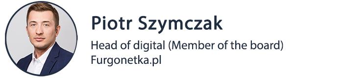 furgonteka logistyka Piotr Szymczak