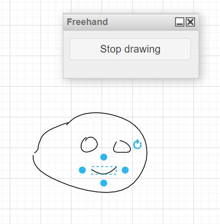rysowanie ręczne w draw io