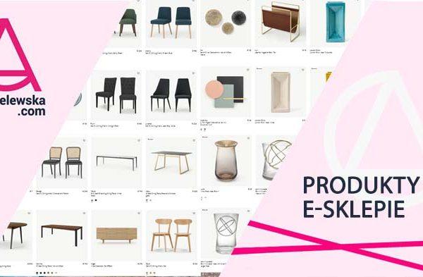 Produkty w sklepie internetowym