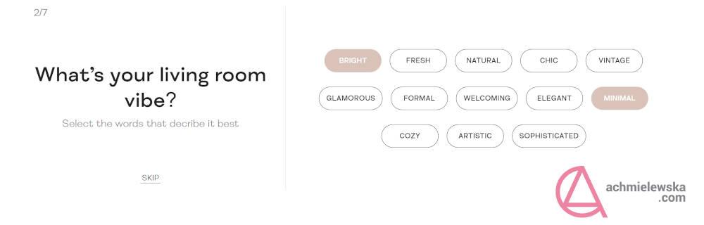 Produkty w sklepie online - wybór produktów