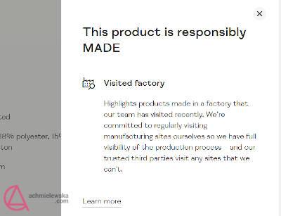 informacje o produkcie w sklepie internetowym