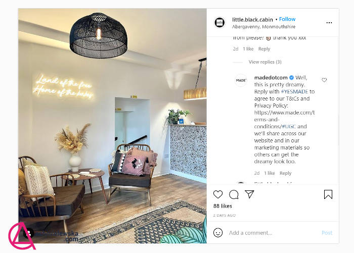user generated content w ecommerce instagram